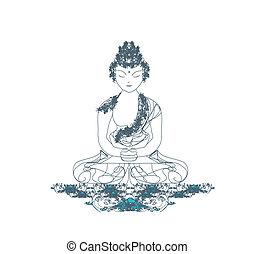 パターン, 仏教, 芸術的
