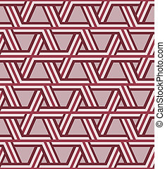 パターン, 光学, 三角形, seamless