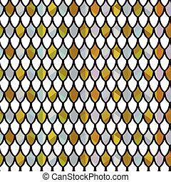 パターン, 光沢がある, 水晶, 抽象的