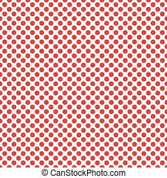 パターン, 円, 赤い背景
