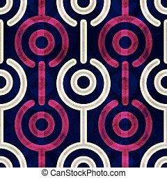 パターン, 円, puple, seamless