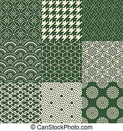 パターン, 噛み合いなさい, seamless, 日本語