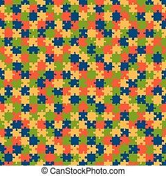 パターン, 困惑, カラードの背景