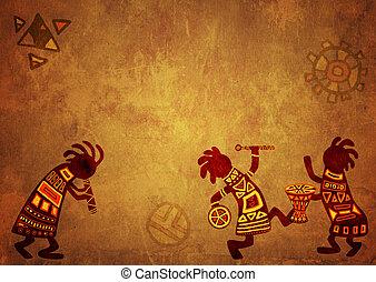 パターン, 国民, アフリカ