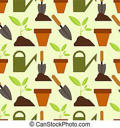 パターン, 園芸