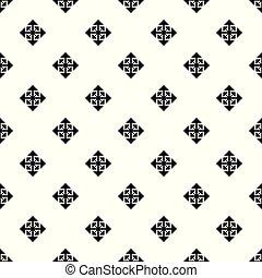 パターン, 変位, seamless, カーソル, ベクトル, 矢