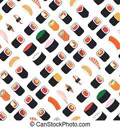 パターン, 寿司, seamless