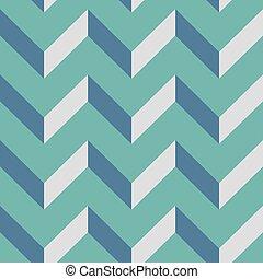パターン, 山形そで章, 生地, イラスト, seamless