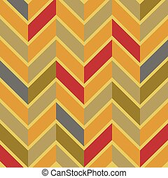 パターン, 山形そで章, 生地, 背景, seamless