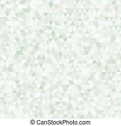 パターン, 幾何学的, カラフルである, 三角形, seamless