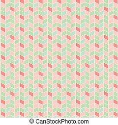 パターン, 幾何学的, ベクトル, ジグザグ, seamless