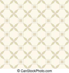 パターン, 幾何学的, ベージュ, seamless
