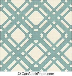 パターン, 幾何学的, レトロ, seamless