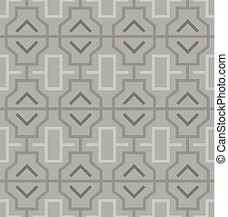パターン, 幾何学的, 東洋人, 抽象的, seamless