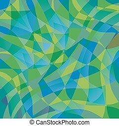 パターン, 幾何学的, 波
