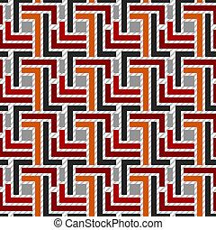パターン, 幾何学的, 01, seamless