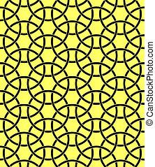 パターン, 幾何学的, ornament.seamless