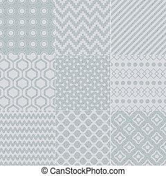 パターン, 幾何学的, seamless, 手ざわり