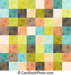 パターン, 幾何学的, sqaure, seamless