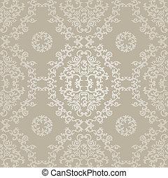 パターン, 幾何学的, style., seamless, イスラム教