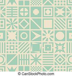 パターン, 広場, seamless