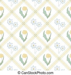 パターン, 広場, seamless, 花束, snowdrops, ベクトル, バックグラウンド。, 白