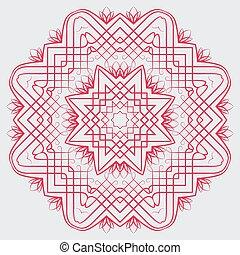 パターン, 抽象的なデザイン, 円