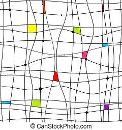 パターン, 抽象的なデザイン, seamless, あなたの