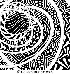パターン, 抽象的, あなたの, design.