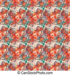 パターン, 抽象的, カラフルである, 背景