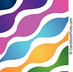 パターン, 抽象的, カラフルである, backgroun