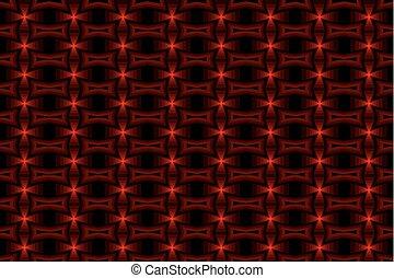 パターン, 抽象的, ベクトル, -, 交差点