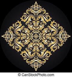 パターン, 抽象的, ベクトル, 東洋