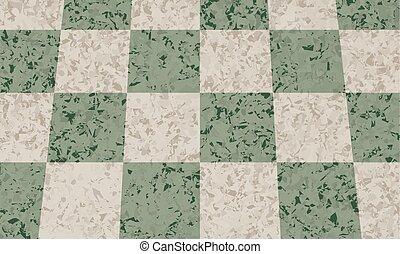 パターン, 抽象的, ベクトル, 緑の背景, 大理石