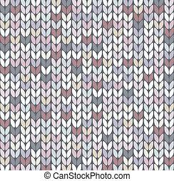 パターン, 抽象的, ベクトル, 編みなさい