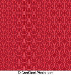 パターン, 抽象的, ベクトル, parallelepipeds