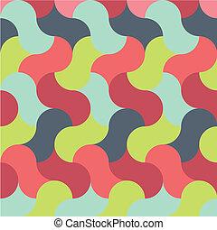 パターン, 抽象的, レトロ