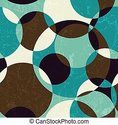 パターン, 抽象的, レトロ, seamless