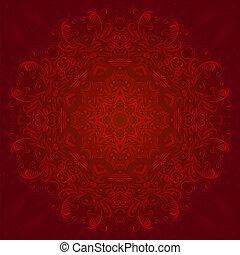 パターン, 抽象的, 円