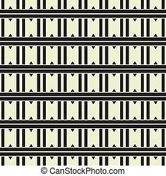 パターン, 抽象的, 幾何学的, 背景, seamless