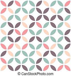 パターン, 抽象的, 白, seamless, バックグラウンド。