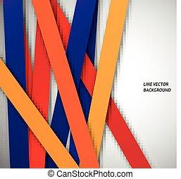 パターン, 抽象的, 線, 幾何学的