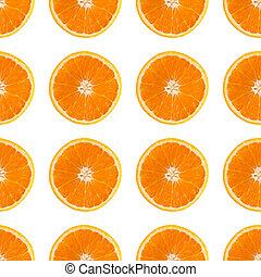 パターン, 抽象的, 背景, ∥で∥, citrus-fruit, の, オレンジ, に薄く切る
