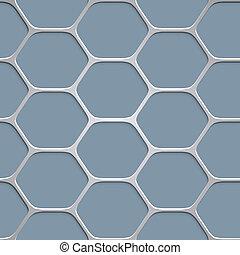 パターン, 抽象的, 背景, ハチの巣