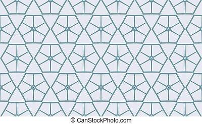 パターン, 抽象的, 青, seamless, ベクトル, ライト, バックグラウンド。