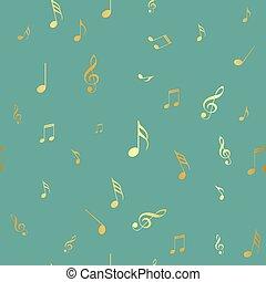 パターン, 抽象的, seamless, イラスト, ベクトル, 音楽, 背景, デザイン, あなたの