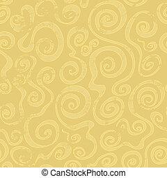 パターン, 抽象的, seamless, 砂, らせん状に動きなさい