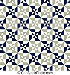 パターン, 抽象的, seamless, 背景, 幾何学的