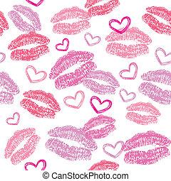 パターン, 接吻