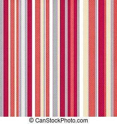 パターン, 明るい, レトロ, ストライプ, 色